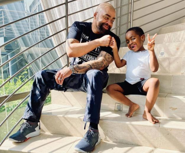 Video: Heartbreaking tribute from Shona Ferguson's grandson Ronewa