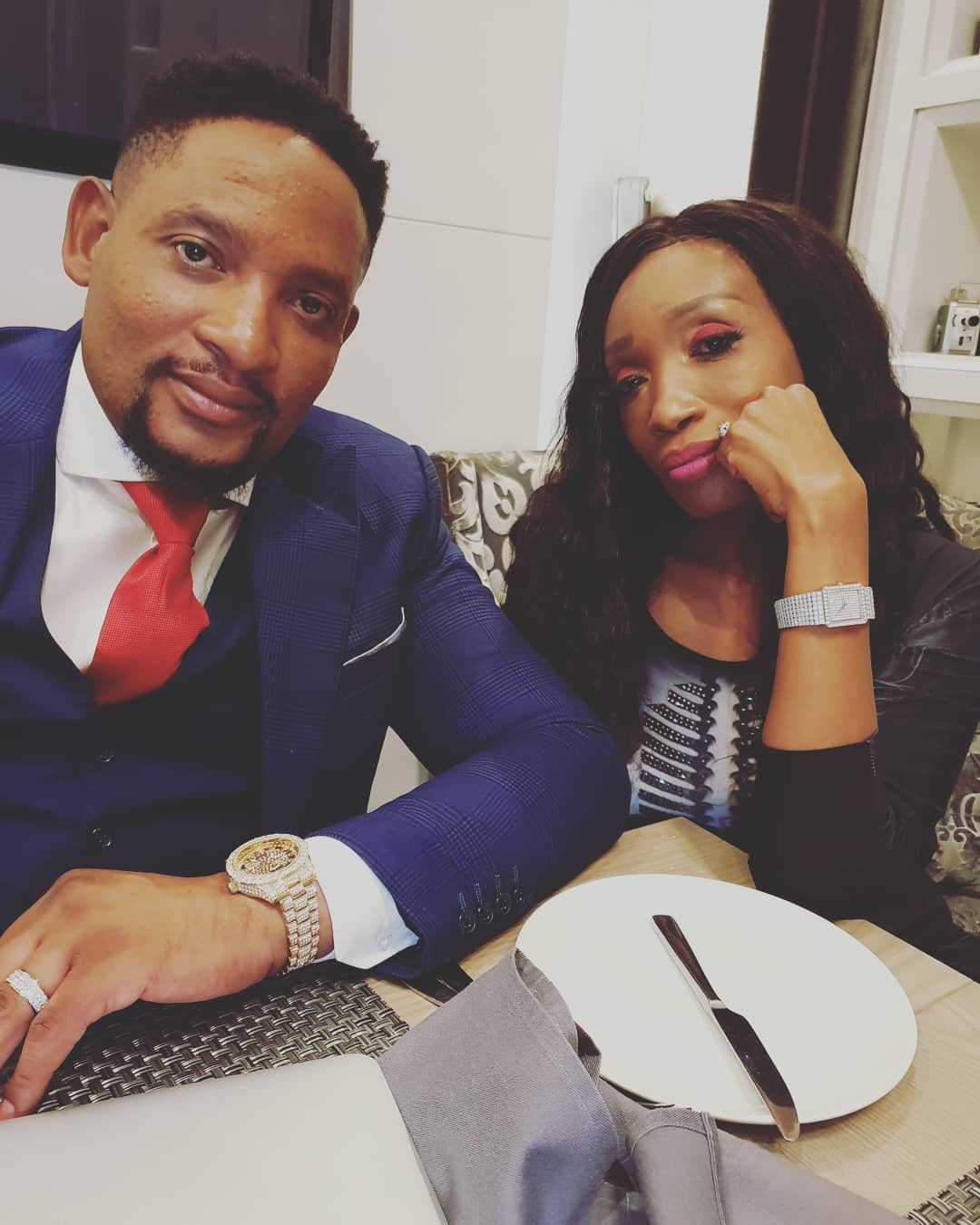 Things get ugly: Actress Sophie Ndaba's Son exposes Max Lichaba