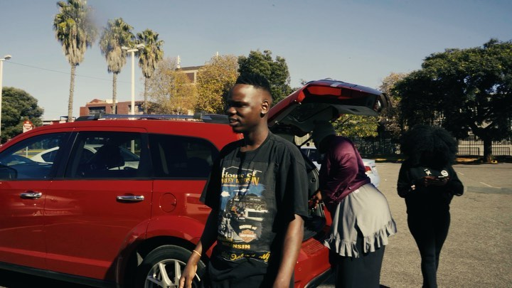 Rapper Blxckie now a taxi driver?