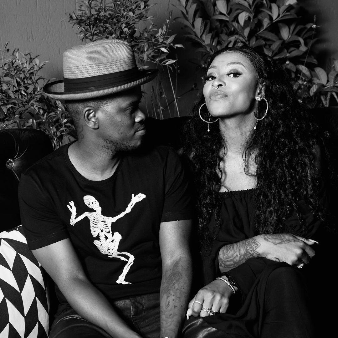 DJ Zinhle to Murdah Bongz, 'Thanks for choosing me'