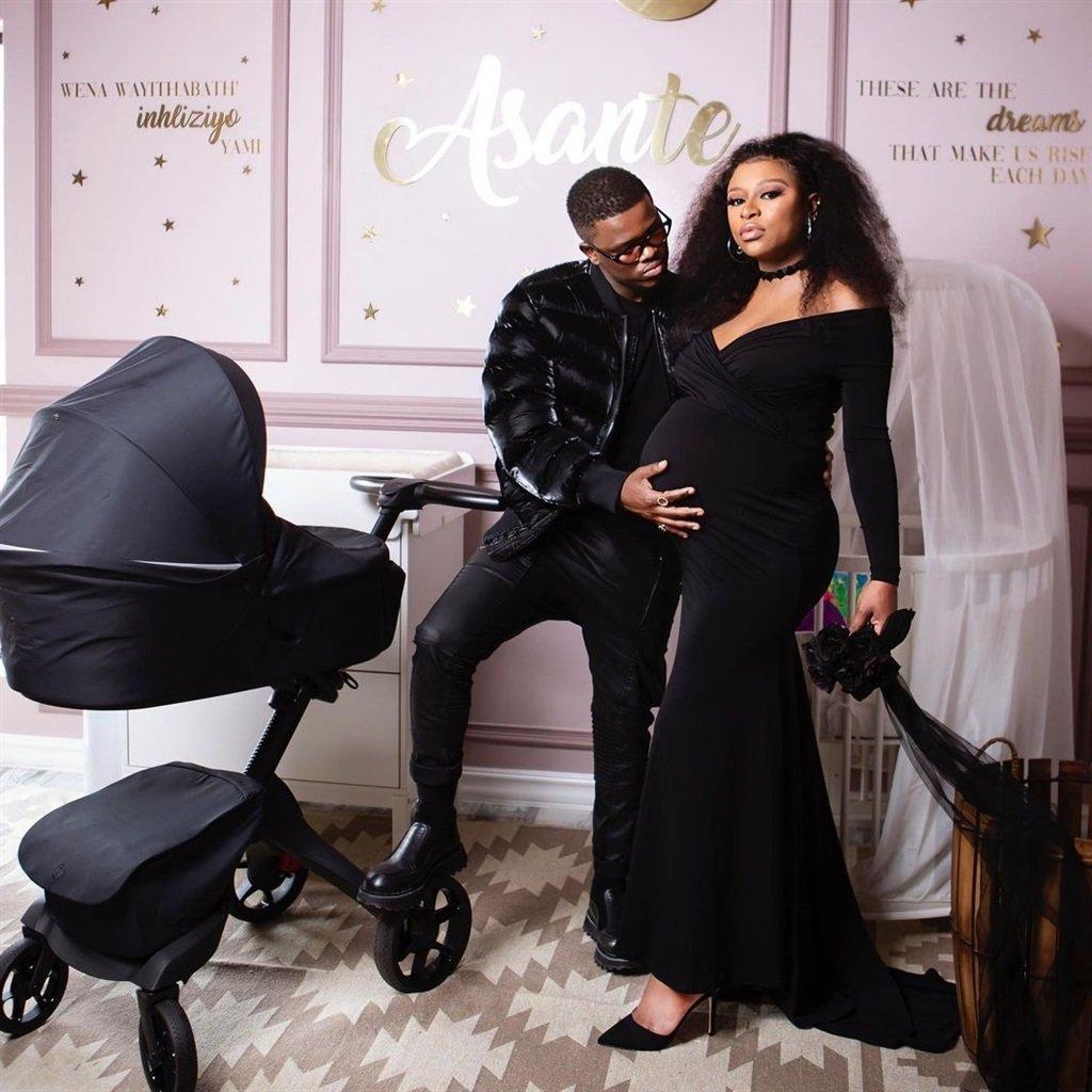 DJ Zinhle gave birth through C section – Baby's gender revealed