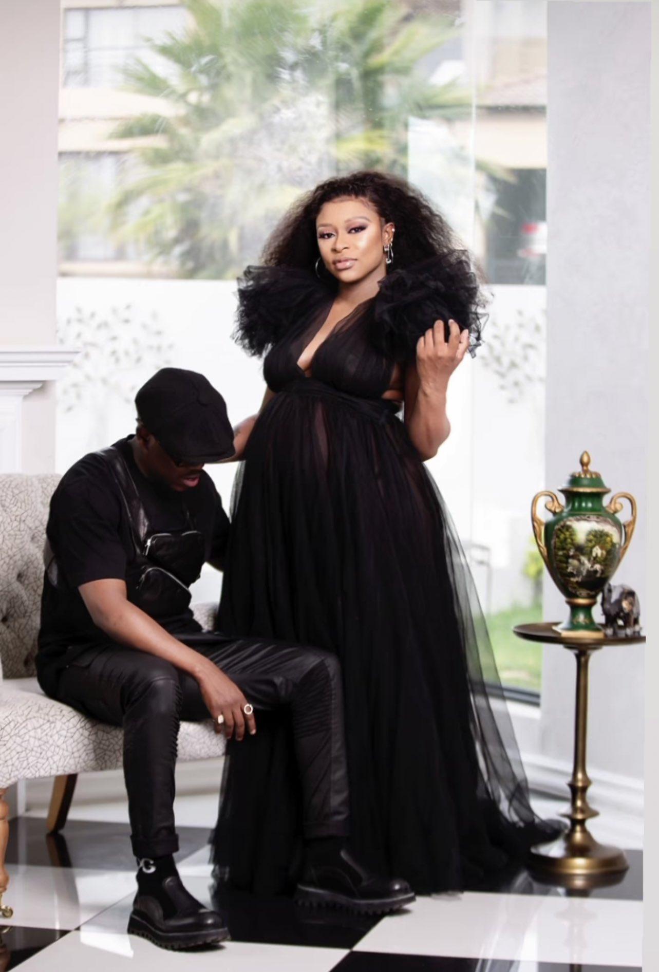 Halala! DJ Zinhle welcomes her second child