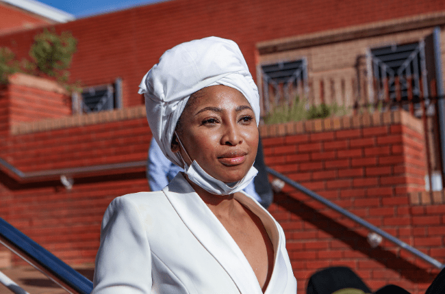I'm not an angry black woman – Actress Enhle Mbali sets the record straight