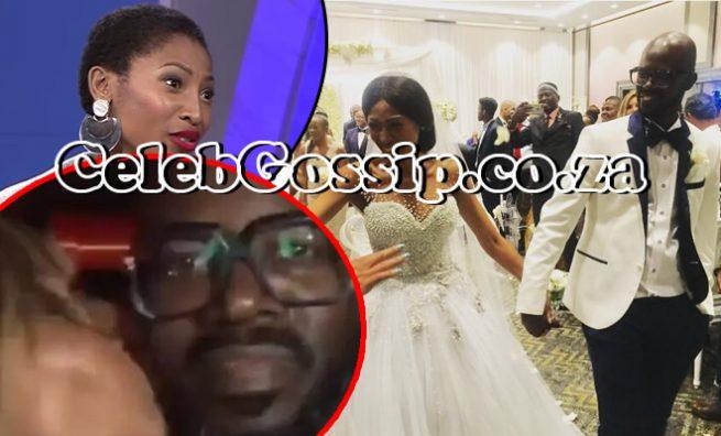 Enhle Mbali's wedding ring causes a stir
