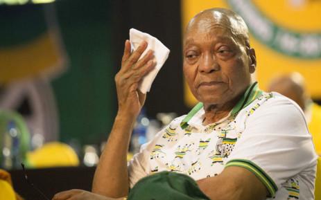 Former President Jacob Zuma back at Nkandla