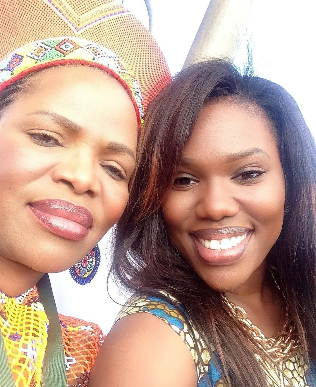 Actress Gugu Gumede pays tribute to late mom