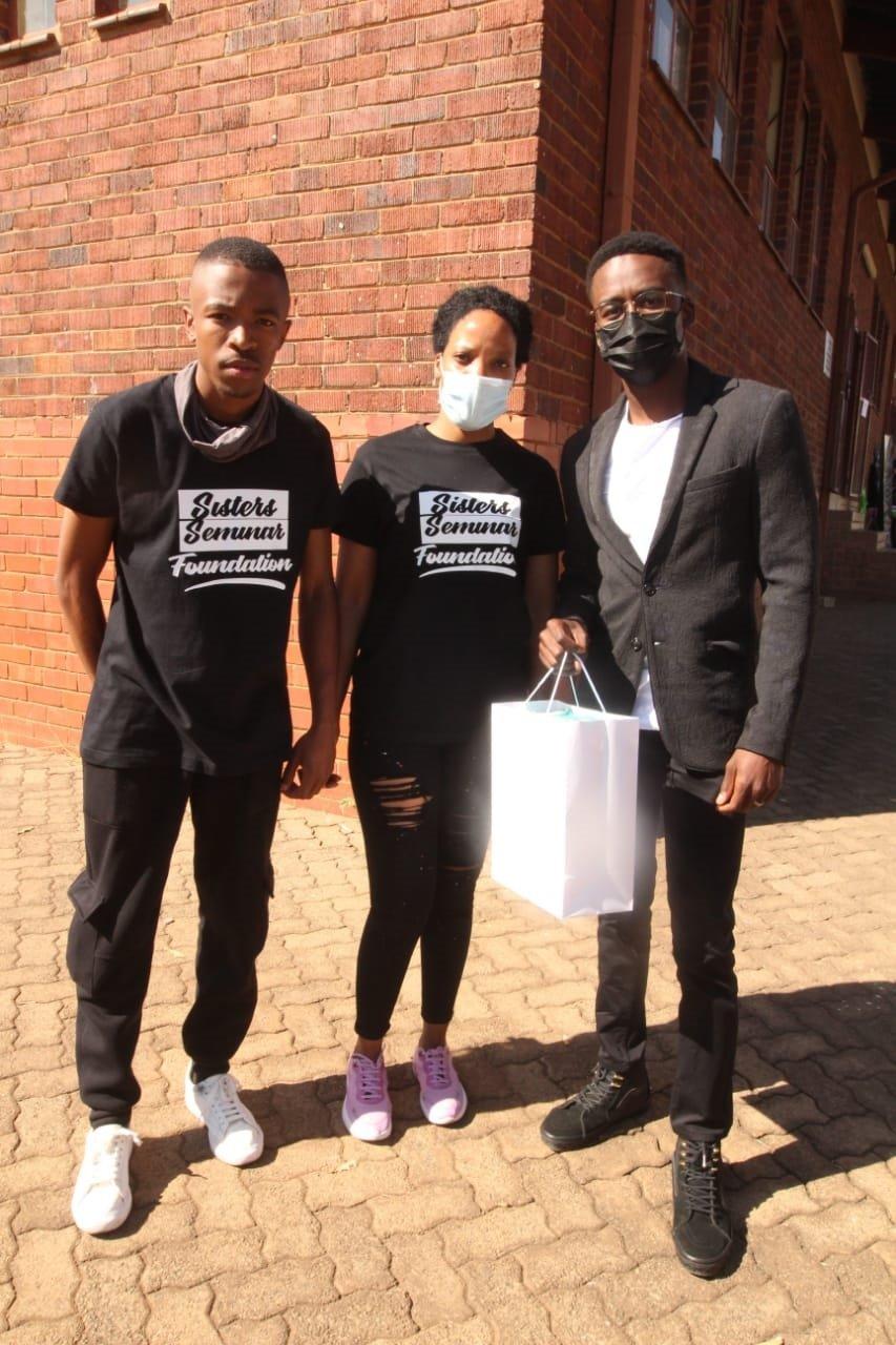 Former Scandal actor Hungani Ndlovu inspires Mzansi youths