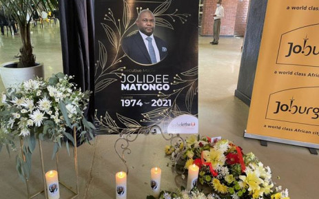 SO SAD: Our anniversary will never be the same again – Jolidee Matongo's wife breaks at funeral