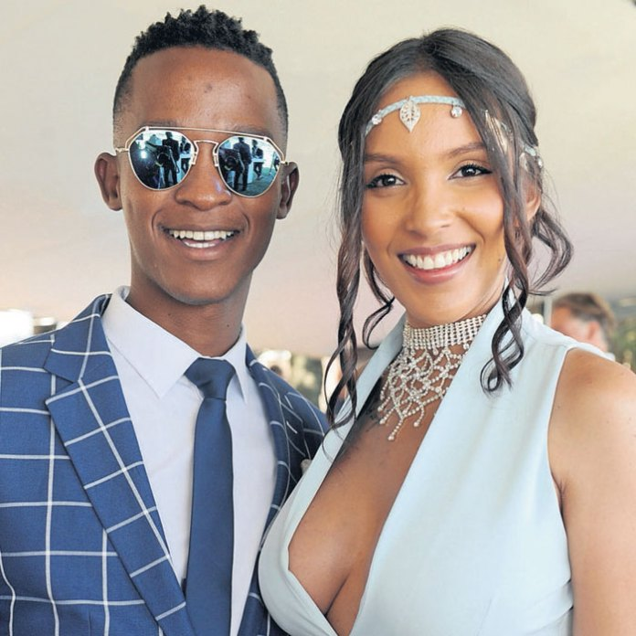 Drama as Katlego Maboe demands R4 million for damages from ex-wife Monique Mulle