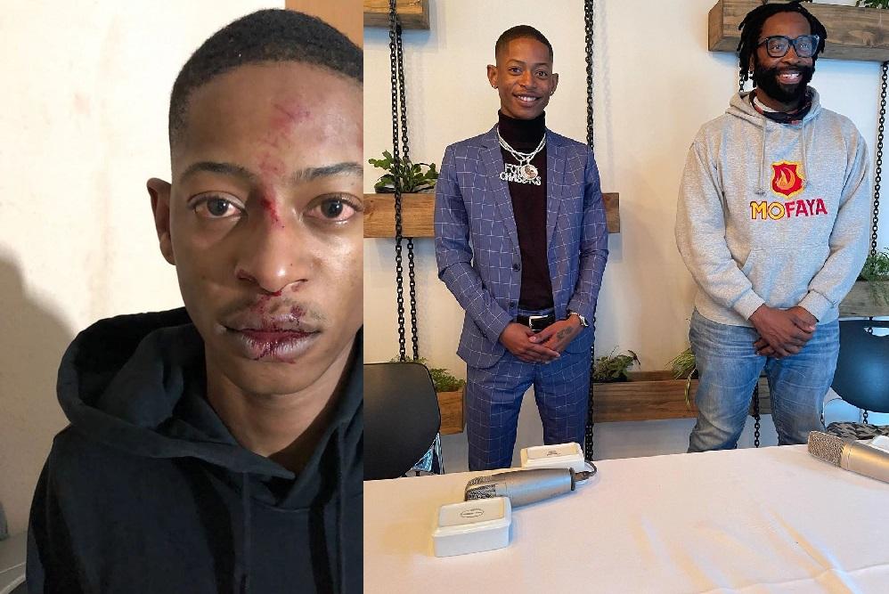 Popular forex trader Lesiba Mothupi left for dead after a car hijacking: Pics and Video