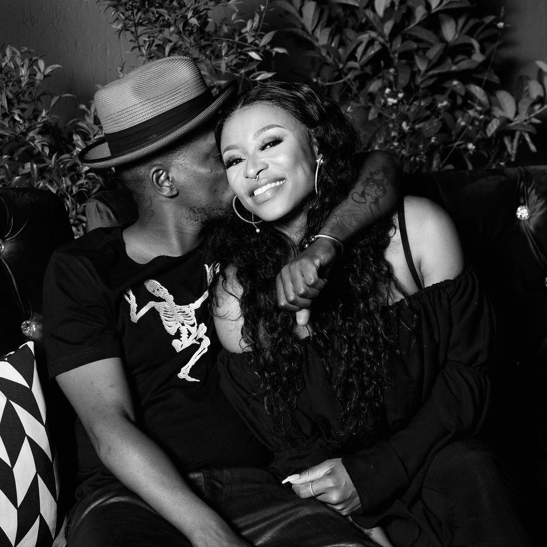 Videos: Inside Romantic Murdah Bongz And DJ Zinhle's dance-off