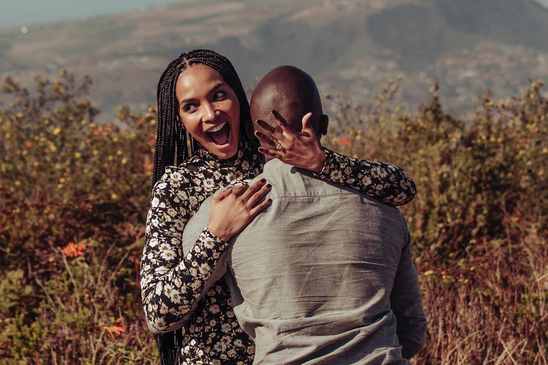 Newly-wed Liesl Laurie addresses pregnancy rumours