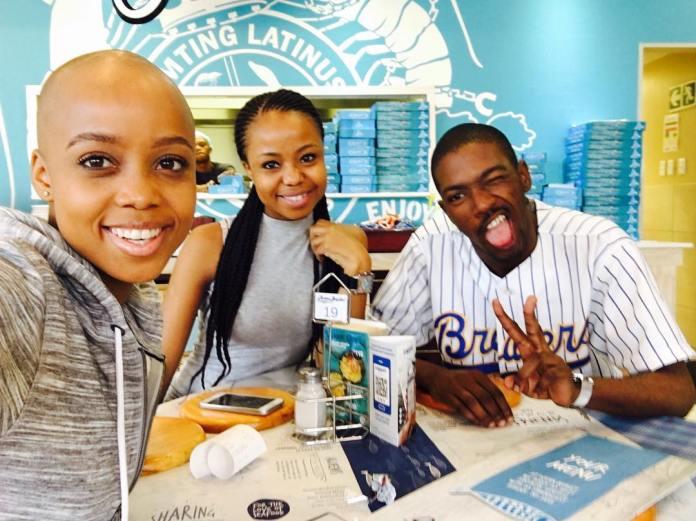 Uzalo's Njeza and Ntando Duma's sister Thando allegedly dating – Pictures