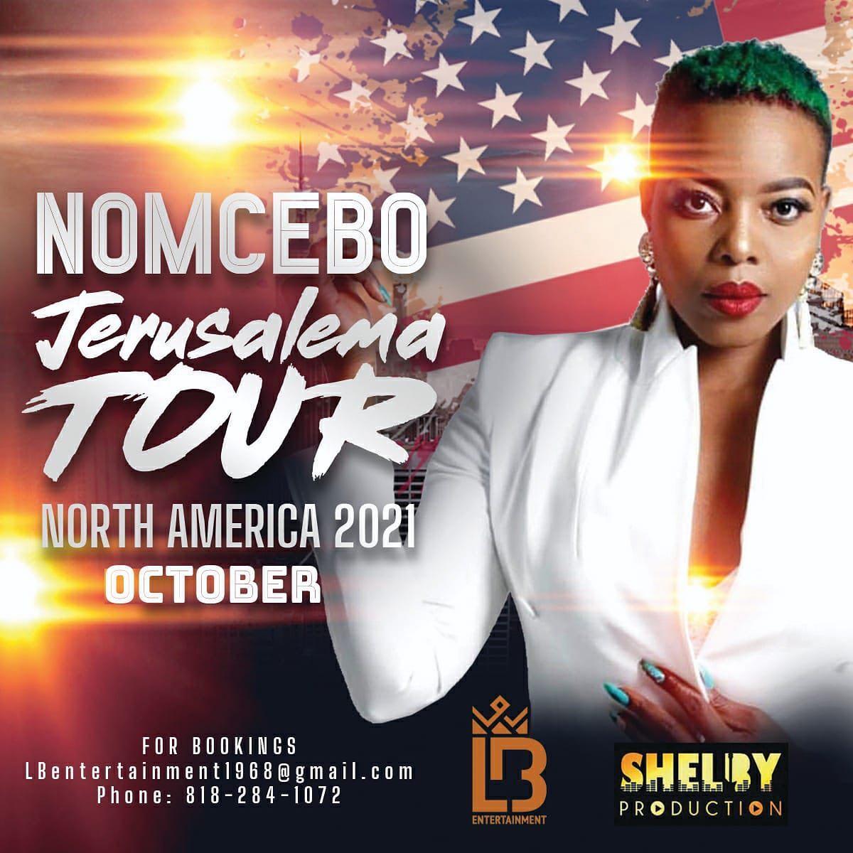 Songbird Nomcebo Zikode takes the Jerusalema Tour to America