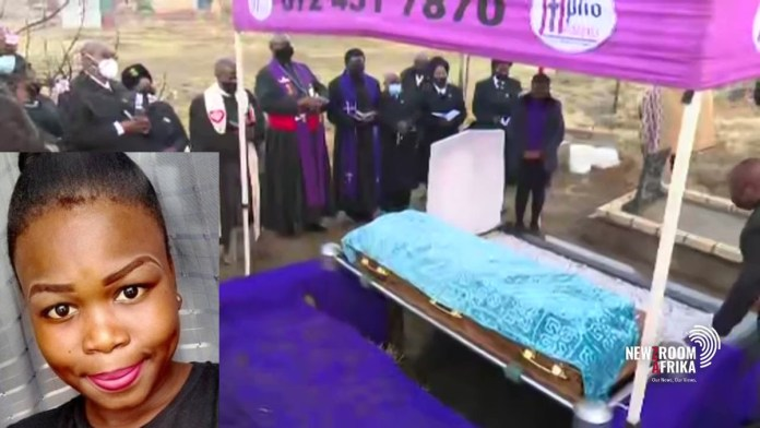Watch Live: Final farewell for Nosicelo Mtebeni, a female student killed & cut into pieces by boyfriend
