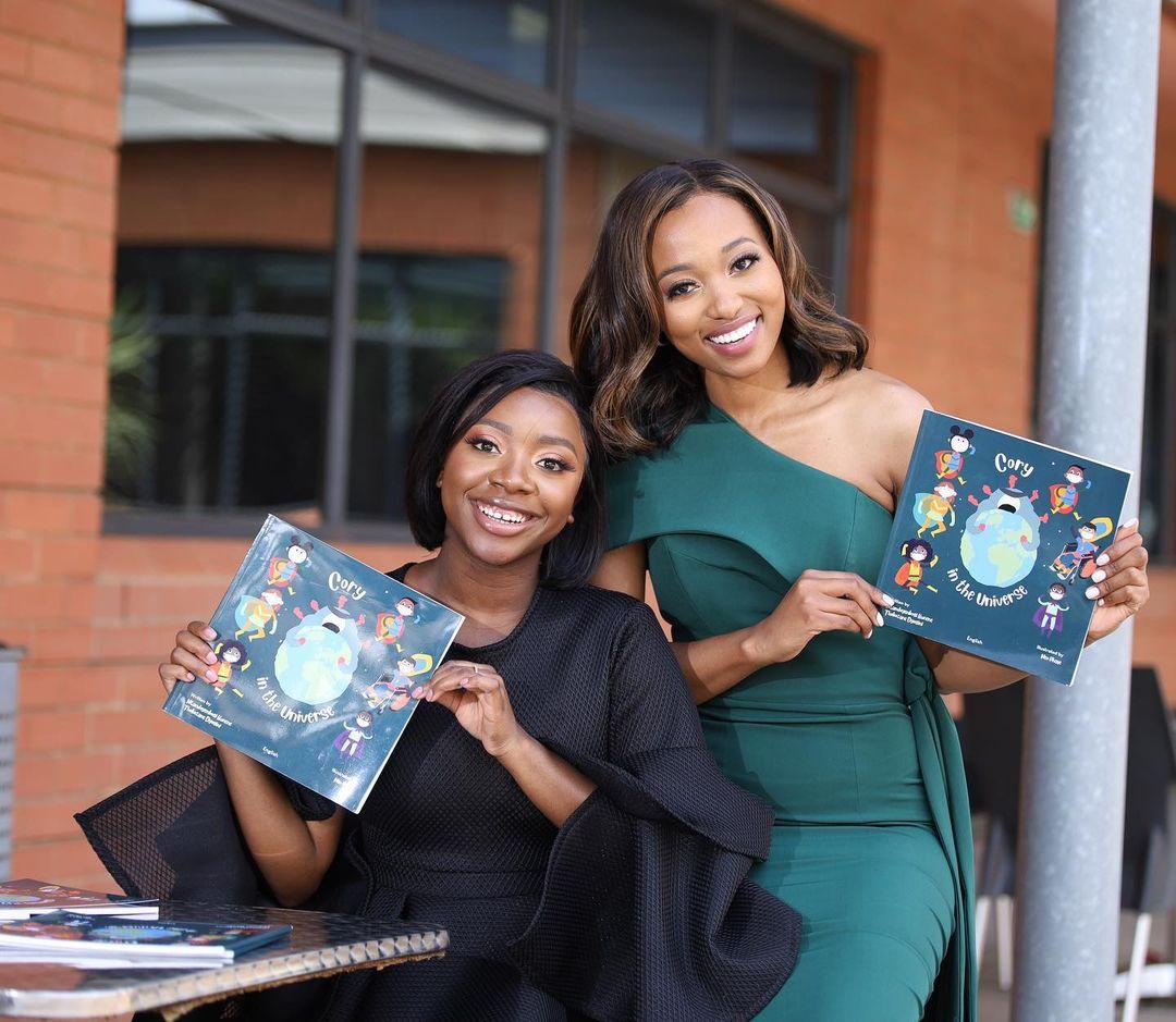 Former Miss SA Ntando Kunene celebrates a milestone
