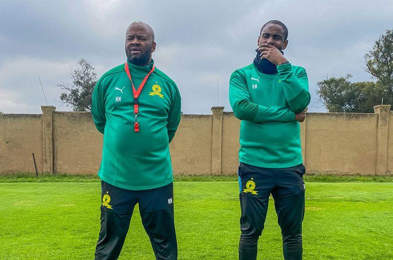 Sundowns co-coaches Rulani Mokwena and Manqoba Mngqithi at war