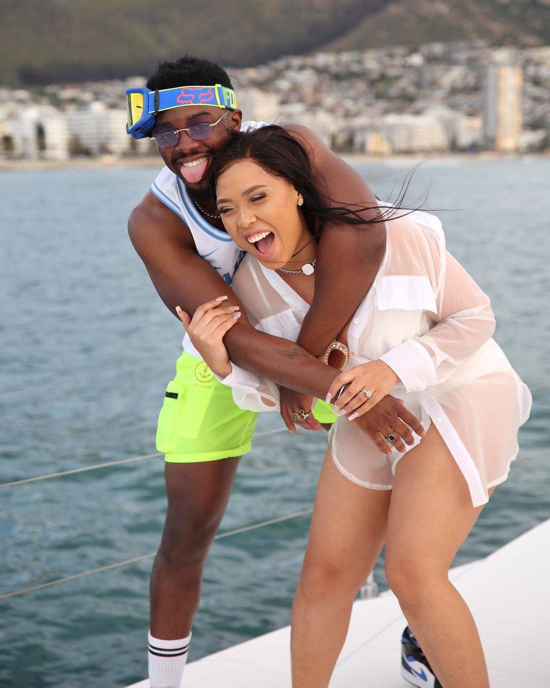 Mzansi react to Simz Ngema And Tino Chinyani breakup