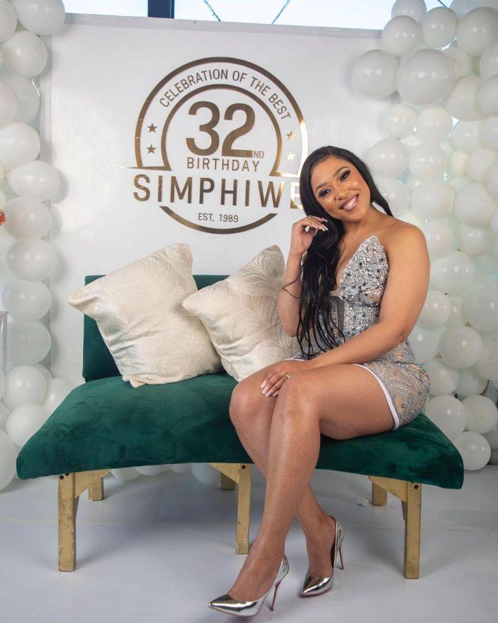 Actress Simz Ngema Celebrates Baby Daddy's Birthday