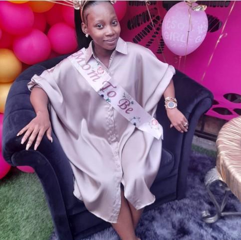 Izulu Lami Star Sobahle Nothando Mkhabase(Thembi) Is Expecting