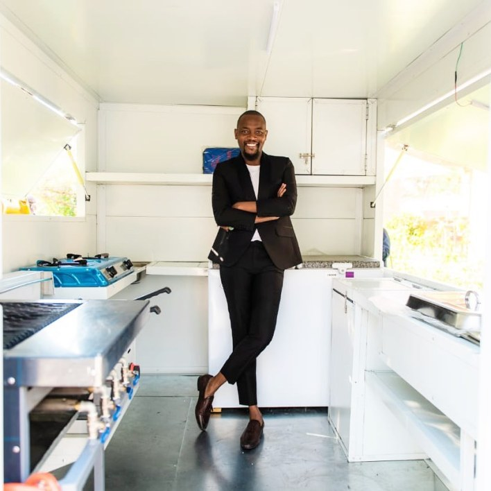 Moshe Ndiki launches mobile food truck for his restaurant
