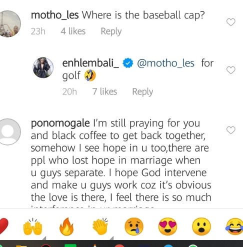 Mzansi React To Enhle Mbali Playing Ex-Hubby's Music