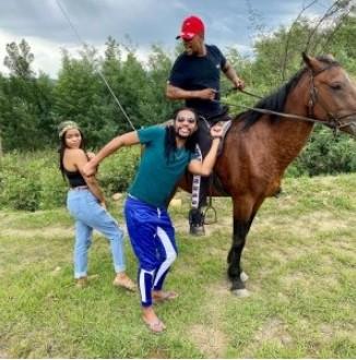 Uzalo's Sbu Shows Off His New Girlfriend