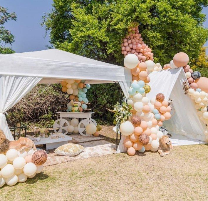 Inside Pearl Modiadie son's first birthday – Photos