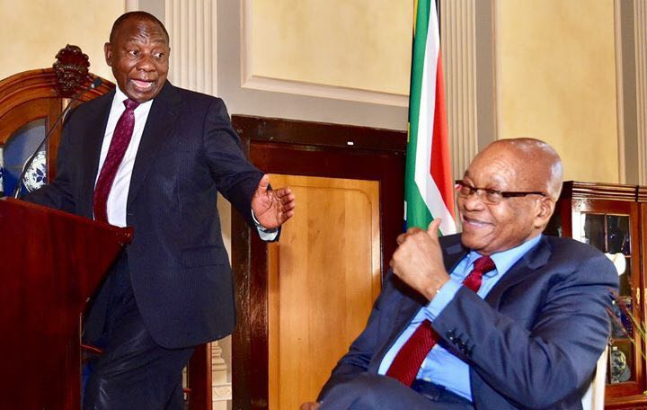 President Ramaphosa welcomes Jacob Zuma's message encouraging people to vote for ANC