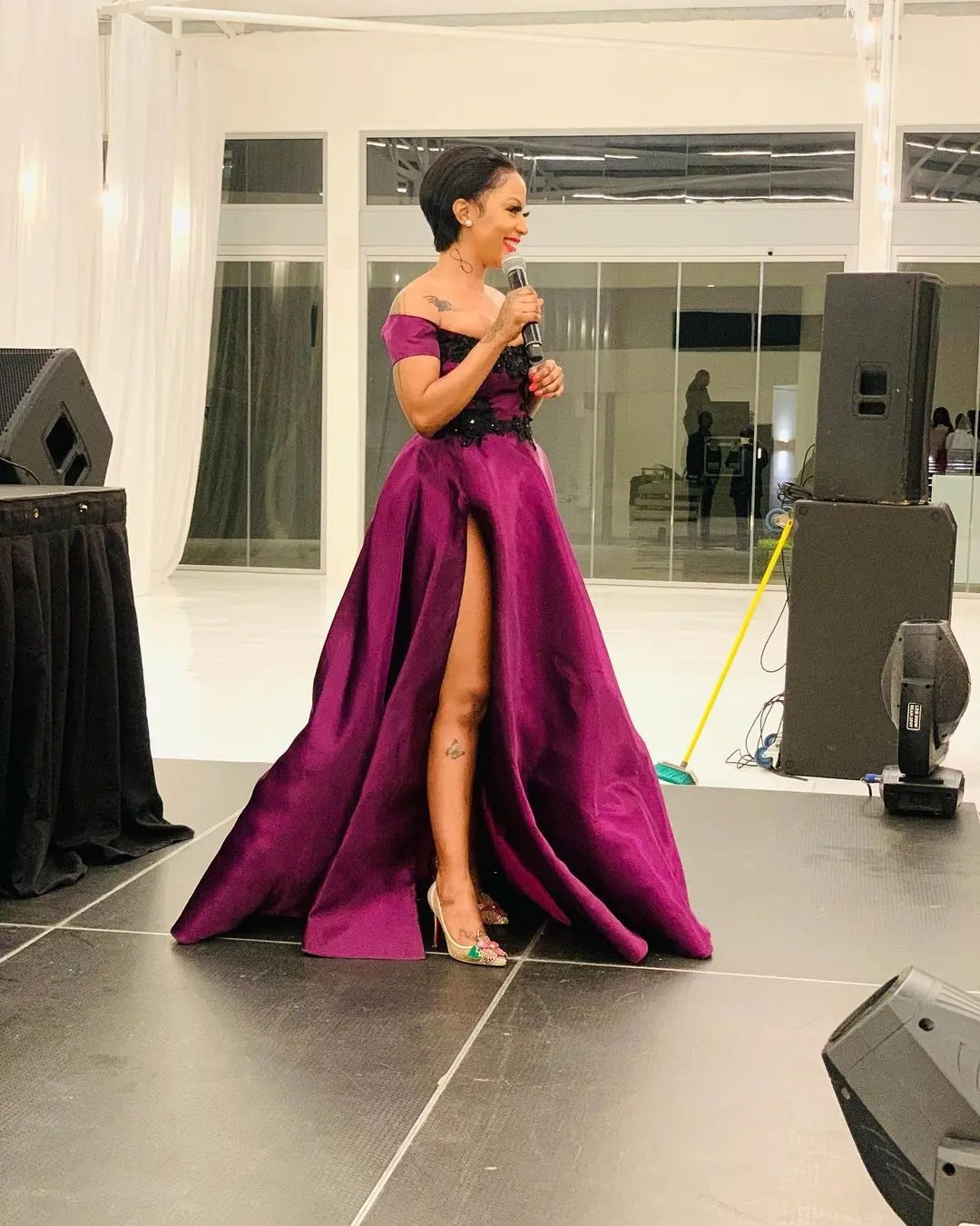 Kelly Khumalo unveils her skin-care products