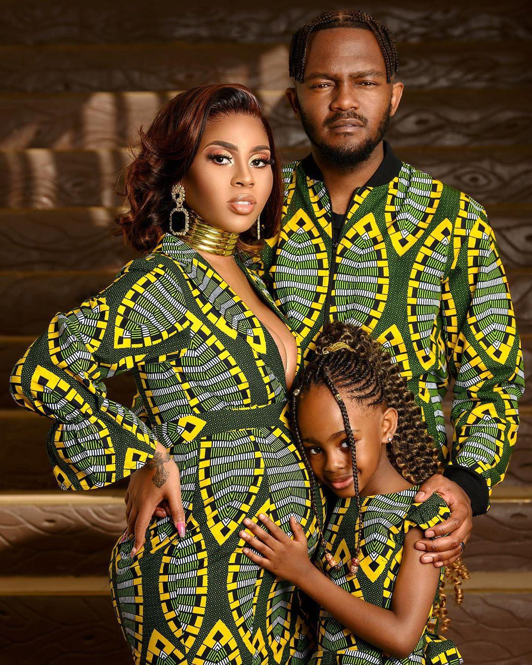 Kwesta celebrates wife and daughter's birthday