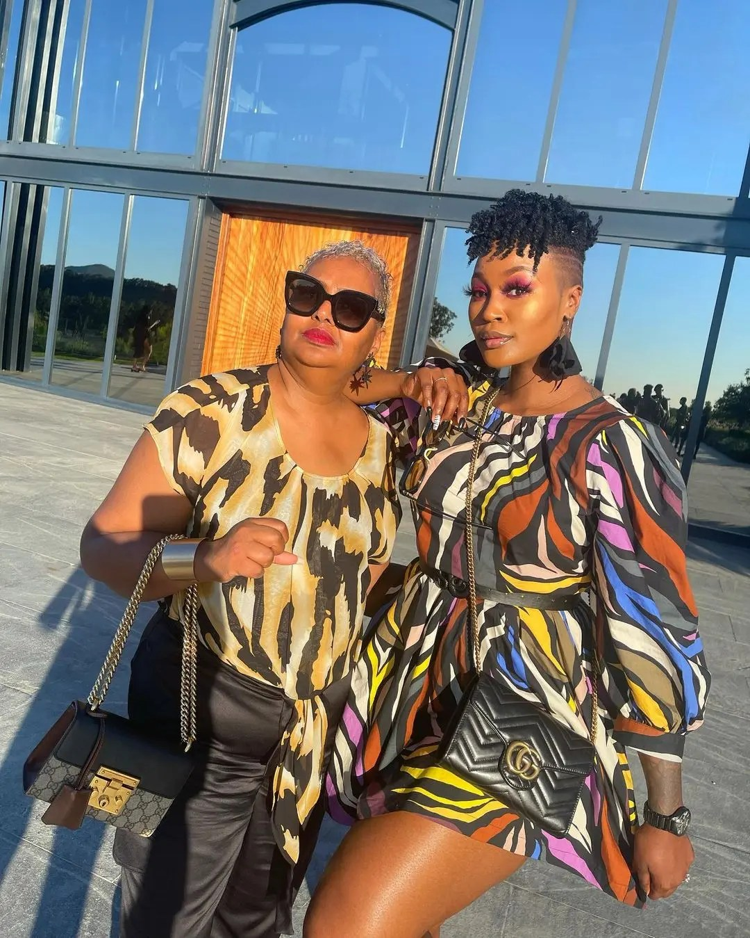 Photos: DJ Lamiez Holworthy gushes over her mom – 'I work hard because of her'