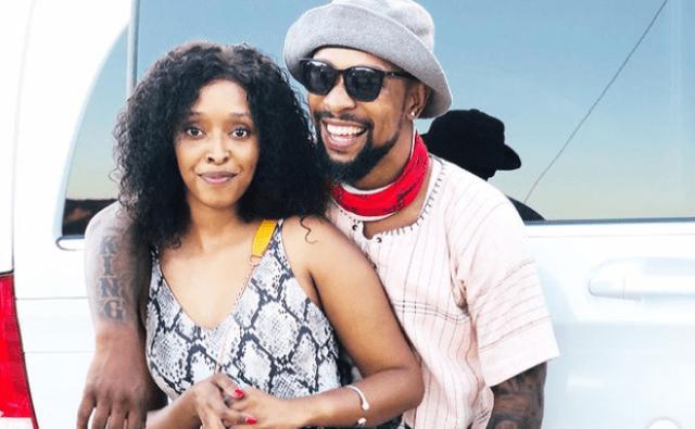 Actor SK Khoza and fiancée Mandy Hlongwane breakup