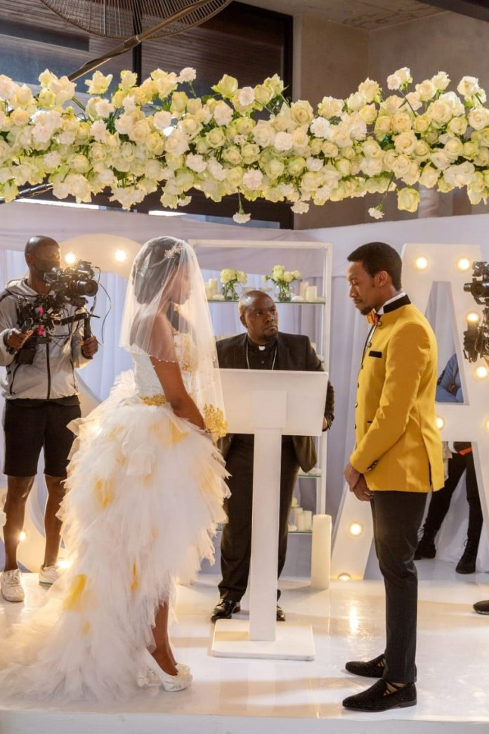 #THEESTATE: INSIDE MAXX MOTICOE(AYANDA) AND ZENOKUHLE MASEKO(SINDI'S) WEDDING – PHOTOS