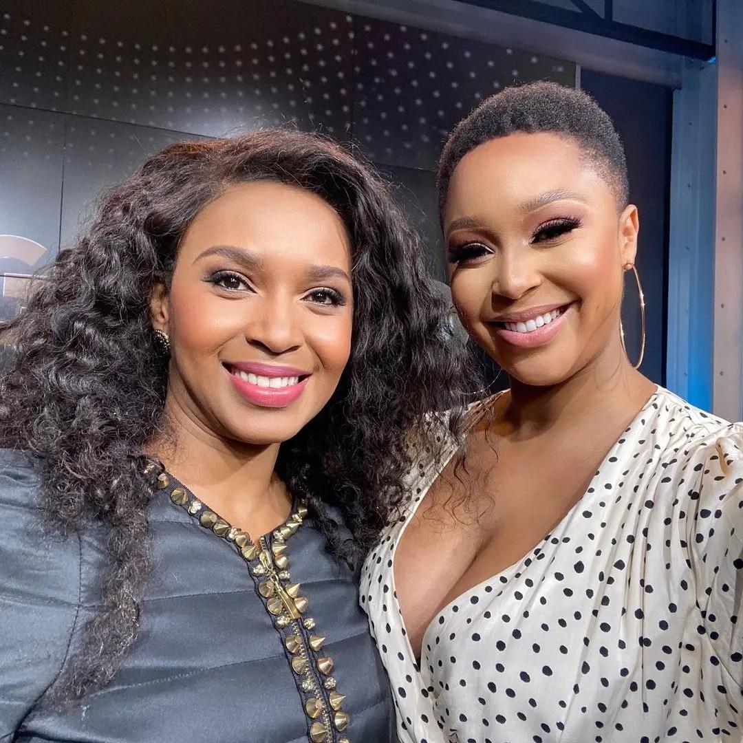 Minnie Dlamini gushes over actress Katlego Danke – 'I'm such a big fan'
