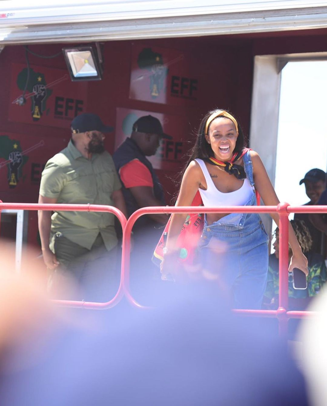 Actress Ntando Duma campaigns with Julius Malema's EFF – Video