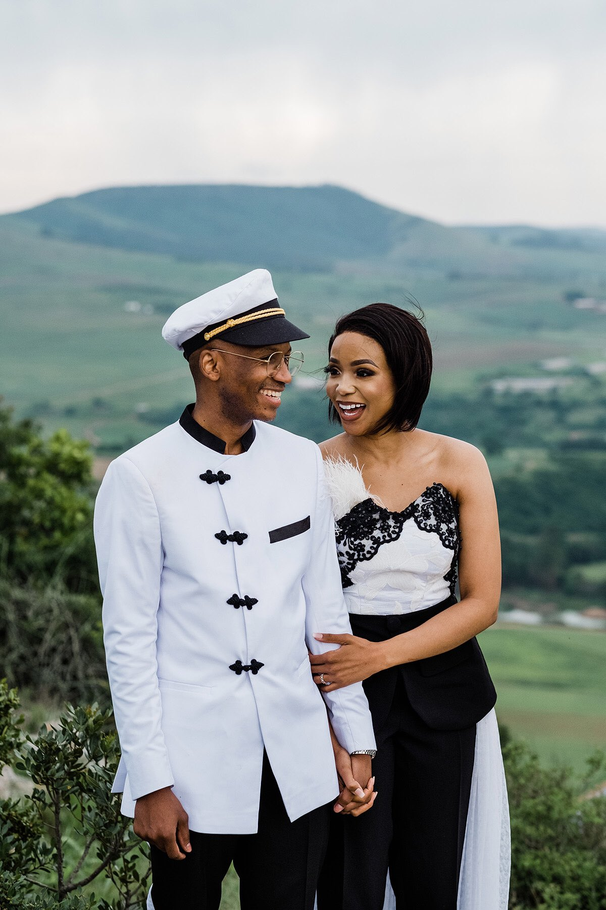 Former Generations Actor Sidwell Ngwenya And Wife, Aamirah Celebrate 4th Wedding Anniversary