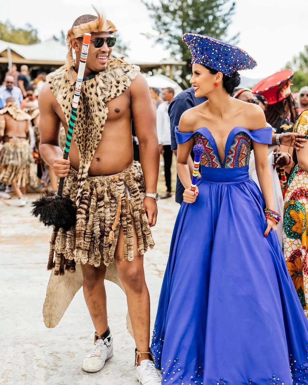 Inside former Miss SA Tamaryn Green's traditional wedding – Photos