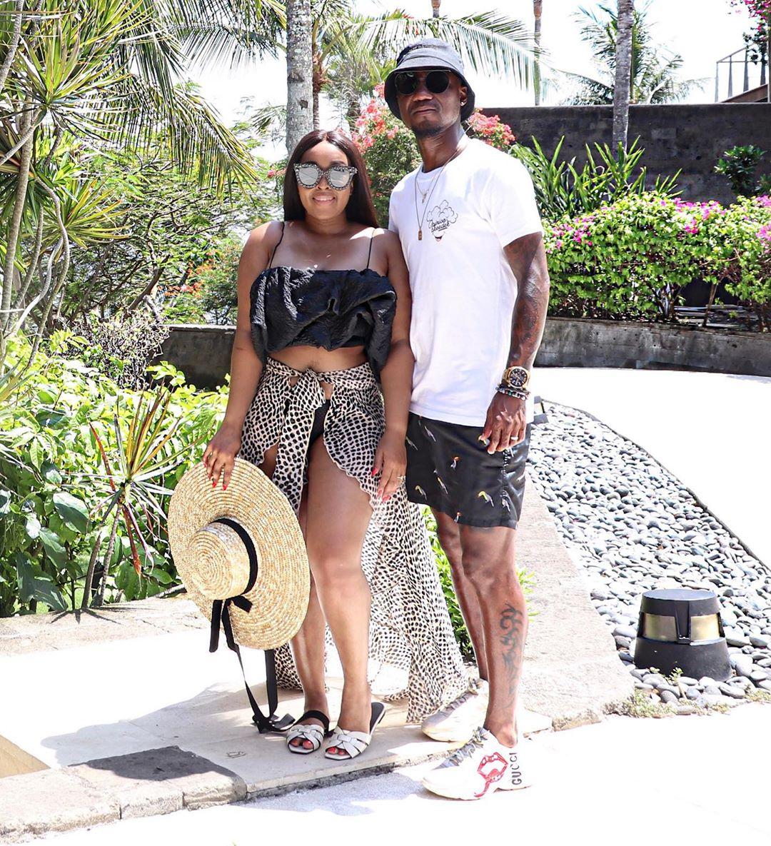Former Bafana Bafana star Teko Modise and wife, Koketso Chipane are expecting