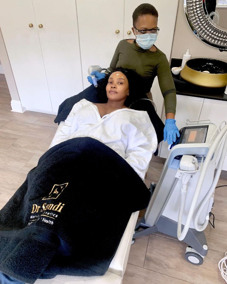 YOUNG LOOKING THEMBI SEETE SHARES HER ANTI-AGEING SECRETS – PHOTOS