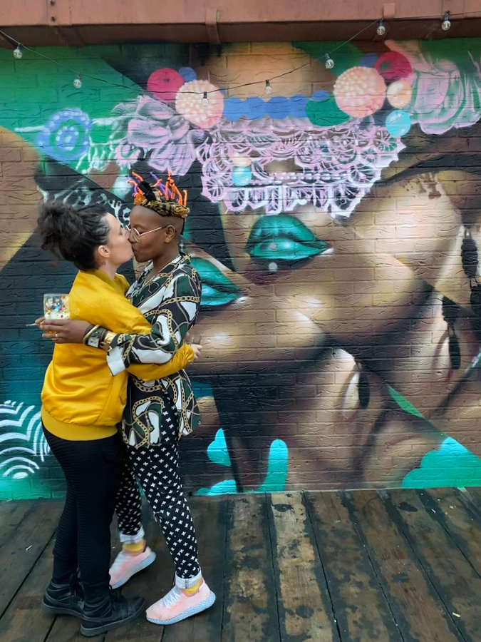 UK-based singer Toya Delazy and girlfriend get engaged